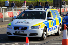 Merseyside Police Volvo V70 D5 Roads Policing Unit Traffic Car (PFB-999) Tags: merseyside police volvo v70 d5 estate roads policing unit rpu traffic car vehicle lightbar grilles fendoffs leds ae62ebc grand national liverpool