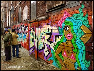 Scouting The Location - Graffiti Model X2248e