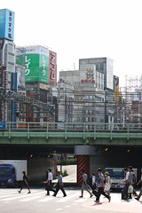 Crossing the Jungle (Ayrcan) Tags: city urban japan tokyo shinjuku asia metropolis honshu
