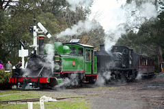 Puffing Billy Railway - 6A & G42 Steam Locomotives (Australian Trains) Tags: railroad heritage train photography track power photos transport australian tracks engine rail railway loco trains victoria tourist class steam corey transportation vic locomotive gibson railways gauge locomotives railroads 6a railpage railpage:class=83 railpage:livery=110 rpauvicnaclasssteam rpauvicnaclasssteam6a