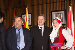 LSP Macedonian President (214) (Bruce MacRae) Tags: centre ottawa president arts macedonia reception national fraser lois macrae highlanders 78th siegel ivanov gjorge