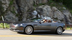 Aston Martin DB9 1306121604w (gparet) Tags: road bridge curves scenic motorcycles bearmountain overlook windingroad twisties goatpath goattrail