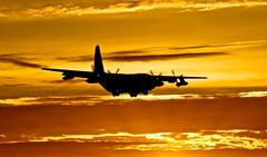 MC-130H 'Rule 31' (matty_pullen) Tags: light sunset aircraft aviation talon usaf hercules raf sog mildenhall 67th