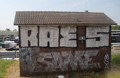 graffiti (wojofoto) Tags: holland graffiti nederland same netherland raes trackside wojofoto