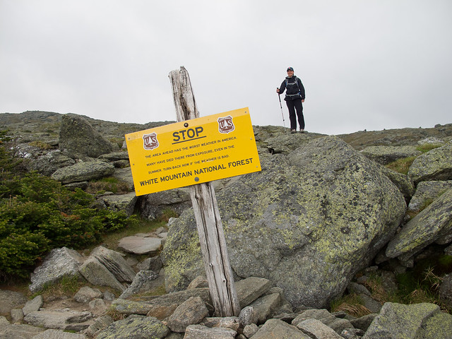 View Hiking Mt. Washington →