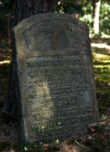 Jewish cemetery in Kolbiel