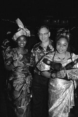Equator Club Philadelphia Nov 1995 003 Ijeoma Nneoma & MGS (photographer695) Tags: nov from party philadelphia club farewell nigeria 1995 illusions equator nneoma