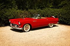 ClassicT-Bird (Frank J Winters) Tags: red ford antiquecar thunderbird sportscar tbird convertable fastcar racey redtbird redconvertable sportycar redsportscar redthunderbird clasasiccar