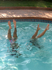 Underwater Handstands (edenpictures) Tags: california mom swimmingpool eden janine