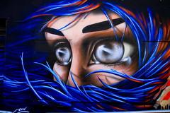 2013 Upfest Bristol - Graffiti Art by Graffiti Artist: Eoin (Andy_Hartley) Tags: uk england urban streetart bristol graffiti eyes mural europe wallart urbanart eoin spraycan grafittiart grafittiartist streatart upfest 2013 urbanpaintfestival
