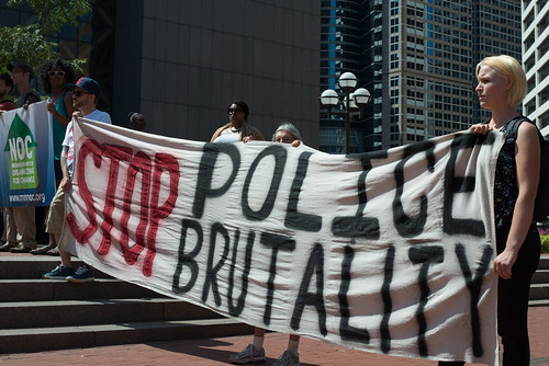 Rally against police brutality, From FlickrPhotos