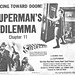 "Superman (Columbia, 1948). Title Lobby Card (11"" X 14"") Chapter 11 --""Superman's Dilemma."""