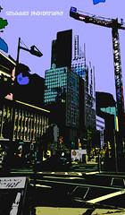 IMG_4583_logo (sebaddel) Tags: color colour building skyscraper germany deutschland colorful crane manhattan frankfurt kran hochhaus mainhattan hochhuser sebaddel sebaddelphotography