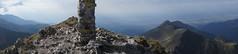 Panorama vestică de pe Negoiu
