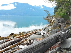 (ashuntwo) Tags: ocean sea summer canada mountains pacific northwest canadian driftwood sound pacificnorthwest pugetsound squamish flickrandroidapp:filter=none