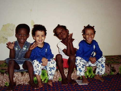 Djilia, Bouri, Aïcha et Teya, Nouakchott, Mauritanie