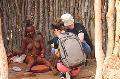 2013-08-28 at 17-05-26 (Namibia Endless Horizon) Tags: red locals village culture tribe ochre himba namibianamibia otjize
