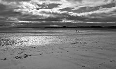 Alnmouth Beach . (wayman2011) Tags: bw beach coast seascapes northumberland alnmouth fujifilmx10