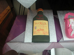 Buckfast Birthday Cake