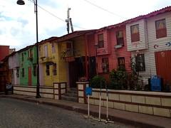 Gekleurde huisjes :)