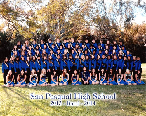 San Pasqual High School Band & Color Guard 2013-2014