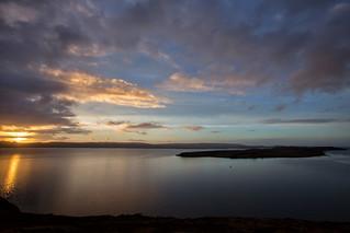 Isle Ewe at sunset