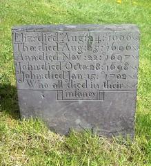Colston Bassett (leavesandpuddles) Tags: memorial carving gravestone nottinghamshire valeofbelvoir colstonbassett infantmortality