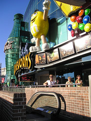 At Las Vegas M&Ms World