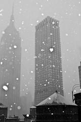 Snowy ESB (maisa_nyc) Tags: nyc snow newyork manhattan esb empirestatebuilding