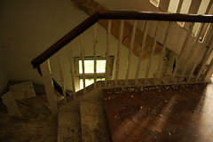 Villa number 10 (sensaos) Tags: urban house abandoned beautiful stairs germany 10 decay exploring number staircase forgotten villa exploration derelict abandonment ue urbex 2013 sensaos