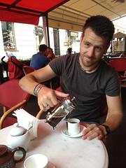 Koffie voor Berrie