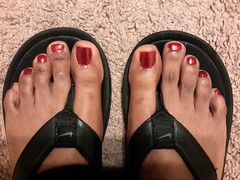 SinfulColors -  Sugar Sugar (NailPolishDude23) Tags: feet toes nails flipflops pedicure nailpolish toenails footfetish pedi malefeet prettyfeet sexyfeet ebonyfeet maletoes ebonytoes flickrandroidapp:filter=none