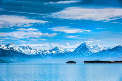 Lake Pukaki - New Zealand South Island 2014 (James Yu Photography) Tags: newzealand canterbury southisland lakepukaki mountcook pukaki alpinelakes
