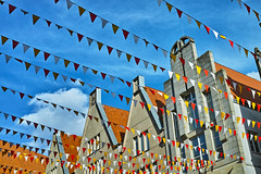 Prinzipalmarkt Münster (Ueberland) Tags: sigma münster foveon prinzipalmarkt wimpel dp2m