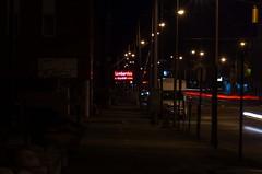 Lombardo's (ramseybuckeye) Tags: life street ohio art sign night dark neon lima pentax main north liquor lombardos k30