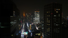 Tokyo Metropolis - Japan (Mic V.) Tags: city building window japan architecture night hotel tokyo view room metropolis nuit japon