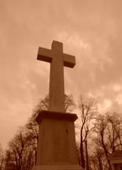 Cross (Trewia) Tags: sepia cross nostalgic christianity
