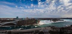 Mighty Niagara (CalTek Design) Tags: ontario water niagarafalls hotel panoramic niagara falls american sheraton peacebridge
