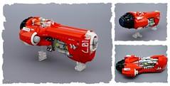 Firebird - perspectives (Sylon-tw) Tags: race lego space future scifi firebird moc garc sylontw