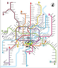 "Shanghai Metro Map • <a style=""font-size:0.8em;"" href=""http://www.flickr.com/photos/81402356@N00/14070679707/"" target=""_blank"">View on Flickr</a>"