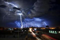 Zzzzzzap! (Greg - AdventuresofaGoodMan.com) Tags: city urban clouds bolivia bolt thunderstorm lightning uyuni lightningstorm