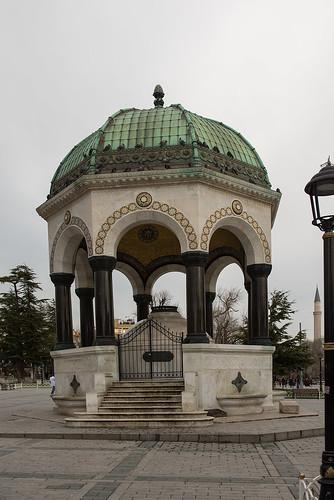 Alman Cesmesi (German Fountain) Istanbul ©  Andrey