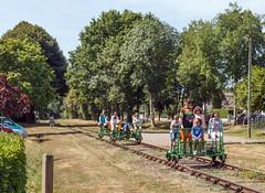 busy day on the vélo-rail (RobinP1951) Tags: poitoucharentes velorail ansacsurvienne