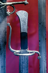 Wallace-1-6 (Arutemu) Tags: greatbritain england london english history museum arms unitedkingdom britain gothic medieval knights armor weapon sword knight historical british blade armour renaissance weapons