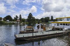 Río Calle-Calle, Valdivia (monto84) Tags: américa américadelsur barco chile fotografíaurbana regióndelosríos transporte transportemarítimo valdivia