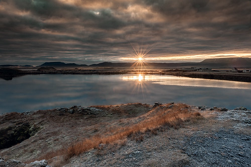 Iceland - Sunrise at Lake Mývatn