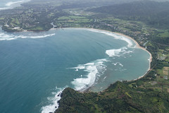 Hanalei Bay From Helicopter (kskyenb) Tags: kauai jackharterhelicopters helicoptertour hanaleibay