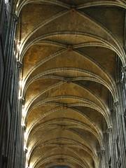 Groined vault (Tomek Mrugalski) Tags: cathedral france normandy rouen groin groined vault ceiling