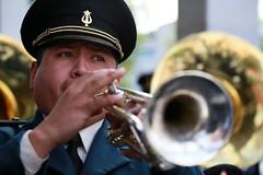 El trompetista (Explore!) (José Lira) Tags: trompeta trompetista músico méxico cdmx militar soldado canon eos 6d