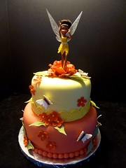 Fairy Cake by Yvonne C. www.birthdaycakes4free.com Twin cities MN